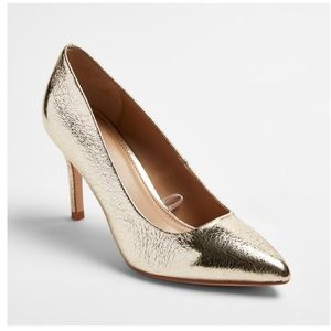 A New Day Gold Gemma Heels size 11